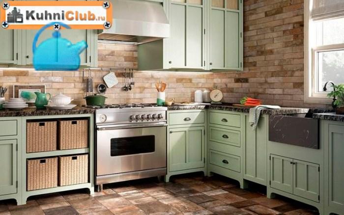 Кухня-в-стиле-ретро