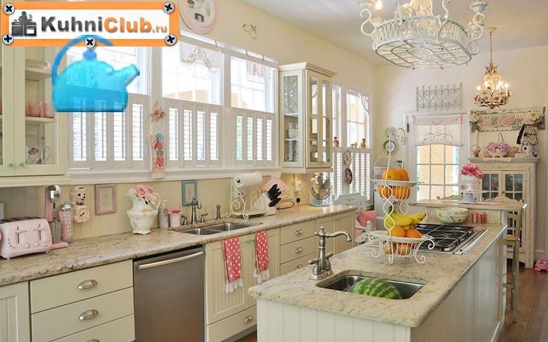 Кухня-в-стиле-шебби-шик-2