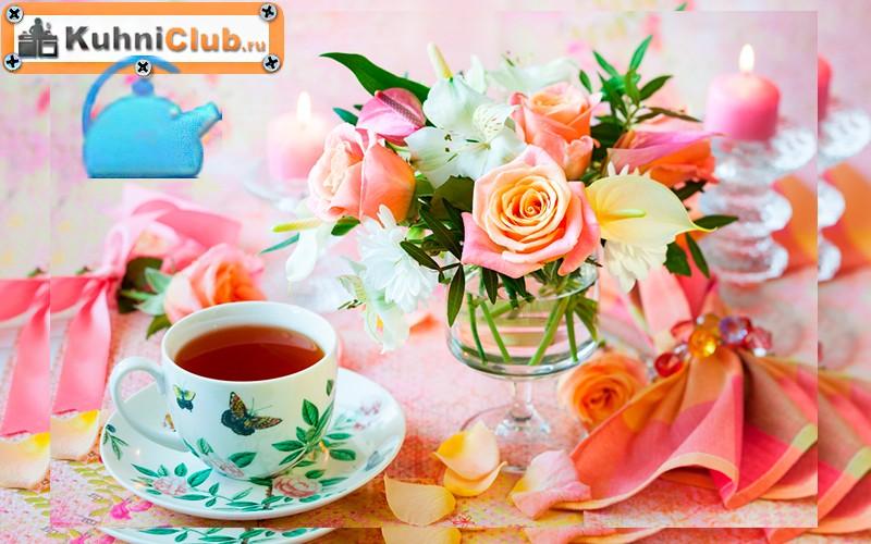 Декор-стола-цветами