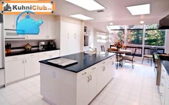 Светодиодное-освещение-на-кухне-с-низким-потолком