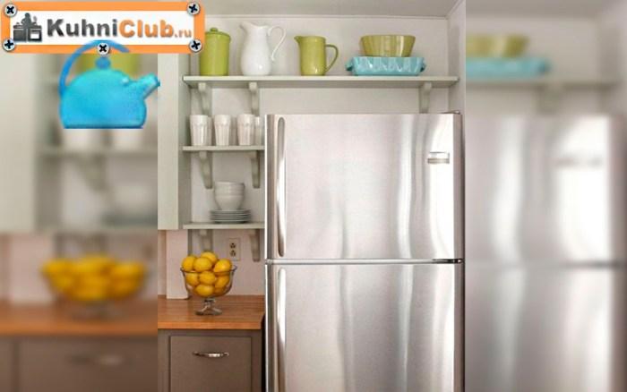 Установите-открытые-полки-вокруг-холодильника