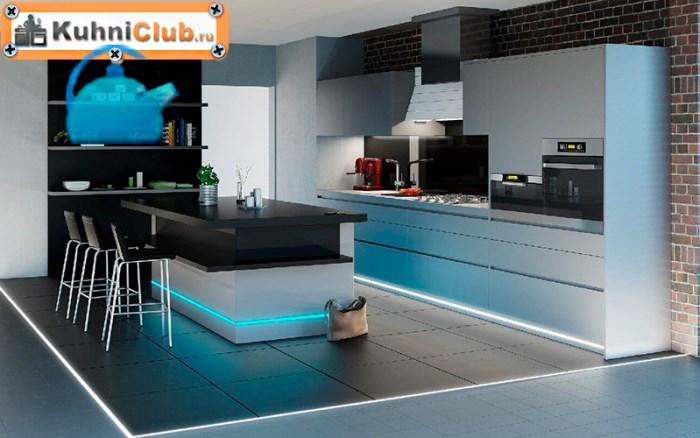 Подсветка-кухни-в-стиле-лофт