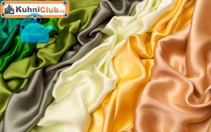 Разнообразие-шелковых-тканей