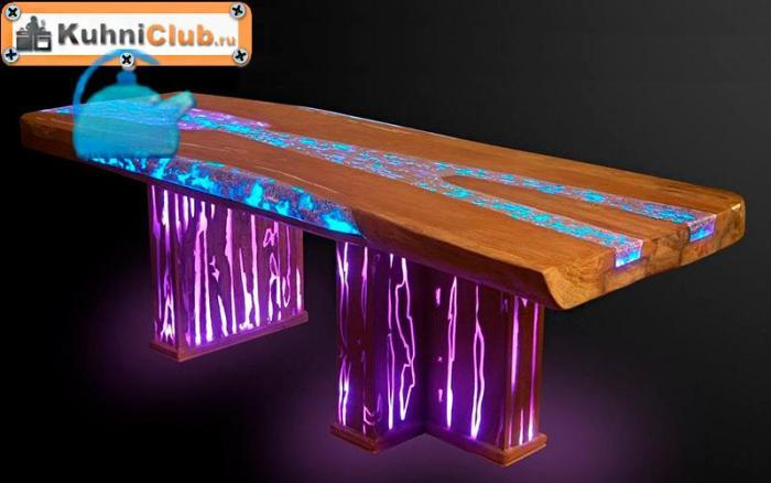 Применение-люминесцентного-порошка-в-создании-эпоксидного-стола