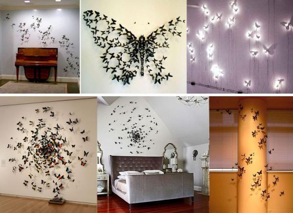Декор стен: как выполнить своими руками, идеи дизайна ...