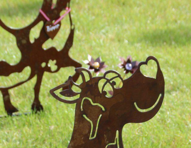 Kunst aus Stahl und Stein – ein Dauergast beim Kuhroulette