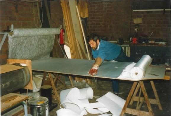 Cees Kuiken aan het werk