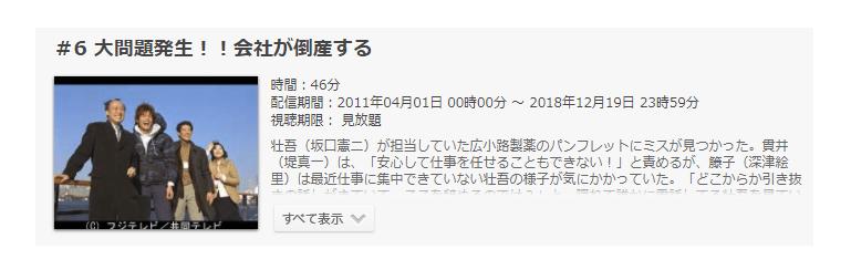「恋ノチカラ」第6話の動画「大問題発生!!会社が倒産する」