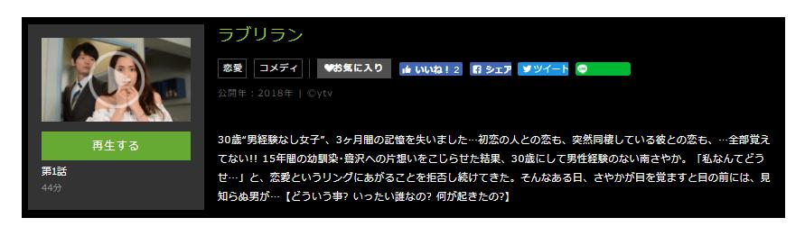 「ラブリラン」のドラマ動画(1話~最終回)