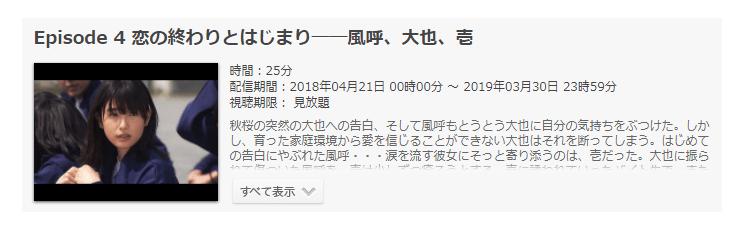 「パフェちっく!(日本版)」第4話の動画「恋の終わりとはじまり――風呼、大也、壱」