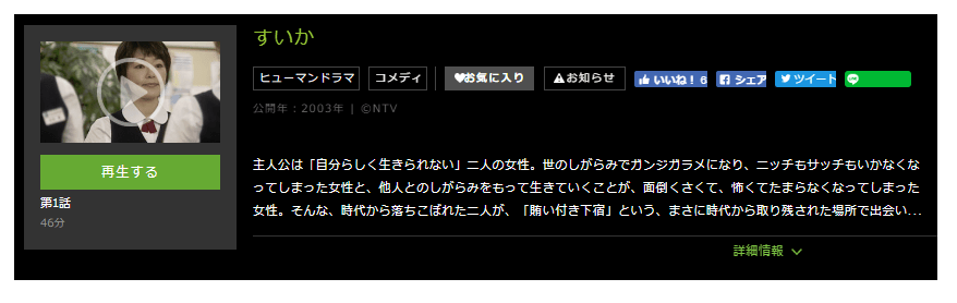 「すいか」のドラマ動画(1話~10話<最終回>)