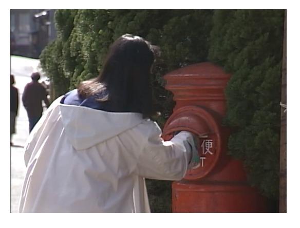 東京ラブストーリーでリカが別れの手紙を出すシーン