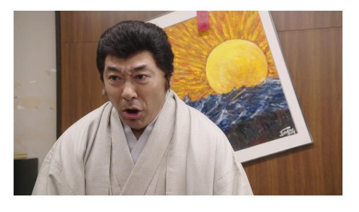 実写ドラマ「今日から俺は」で特別出演した高橋克実