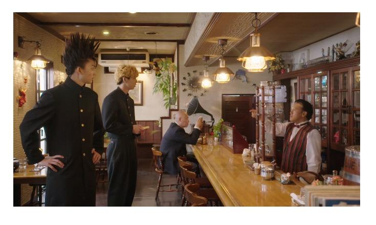 実写ドラマ「今日から俺は」で特別出演した橋本じゅん