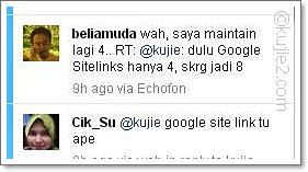 Macam Mana Nak Dapat Google Sitelinks