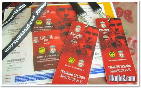 Tiket Liverpool Asia Tour 2011