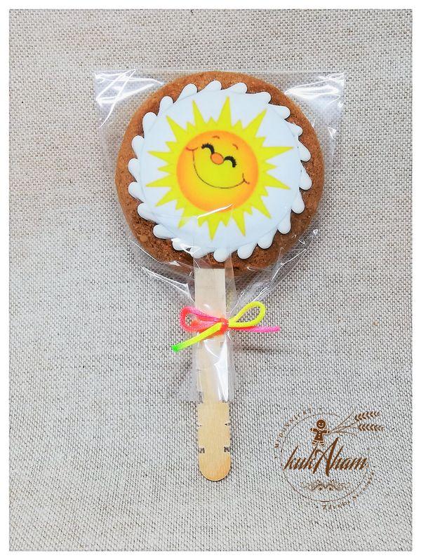 Medovník na paličke slniečko
