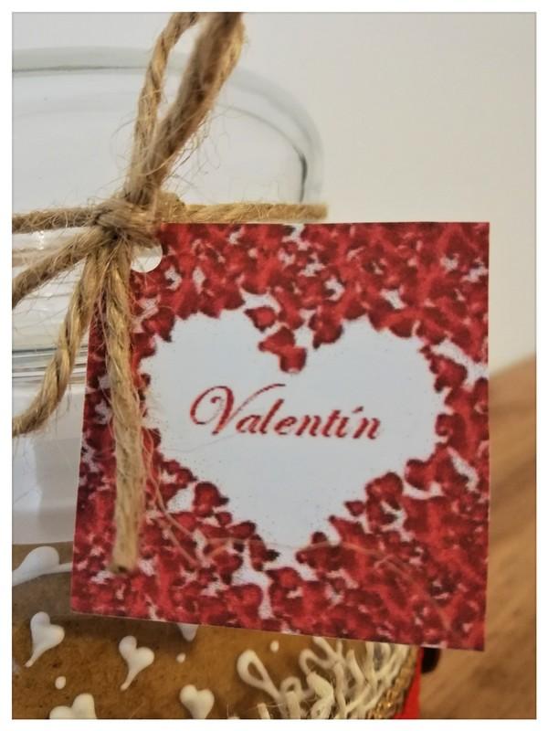 Pohár Valentín vinetka