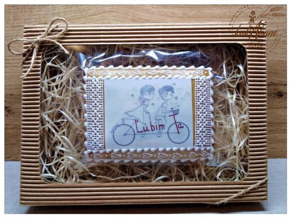 Chlapec a dievča na bicykli