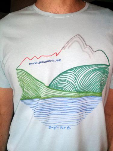 Ručno oslikana majica - uniforma