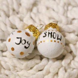 Božićne kruglice za bor Играчки за елха