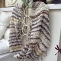 šal luckasto proljece - infinity scarf
