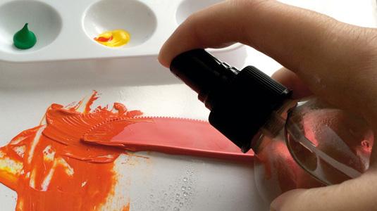 Akrilne boje Kako da ubrzam ili usporim sušenje?