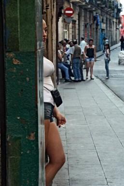 East European prostitutes in Barcelona, 2010.