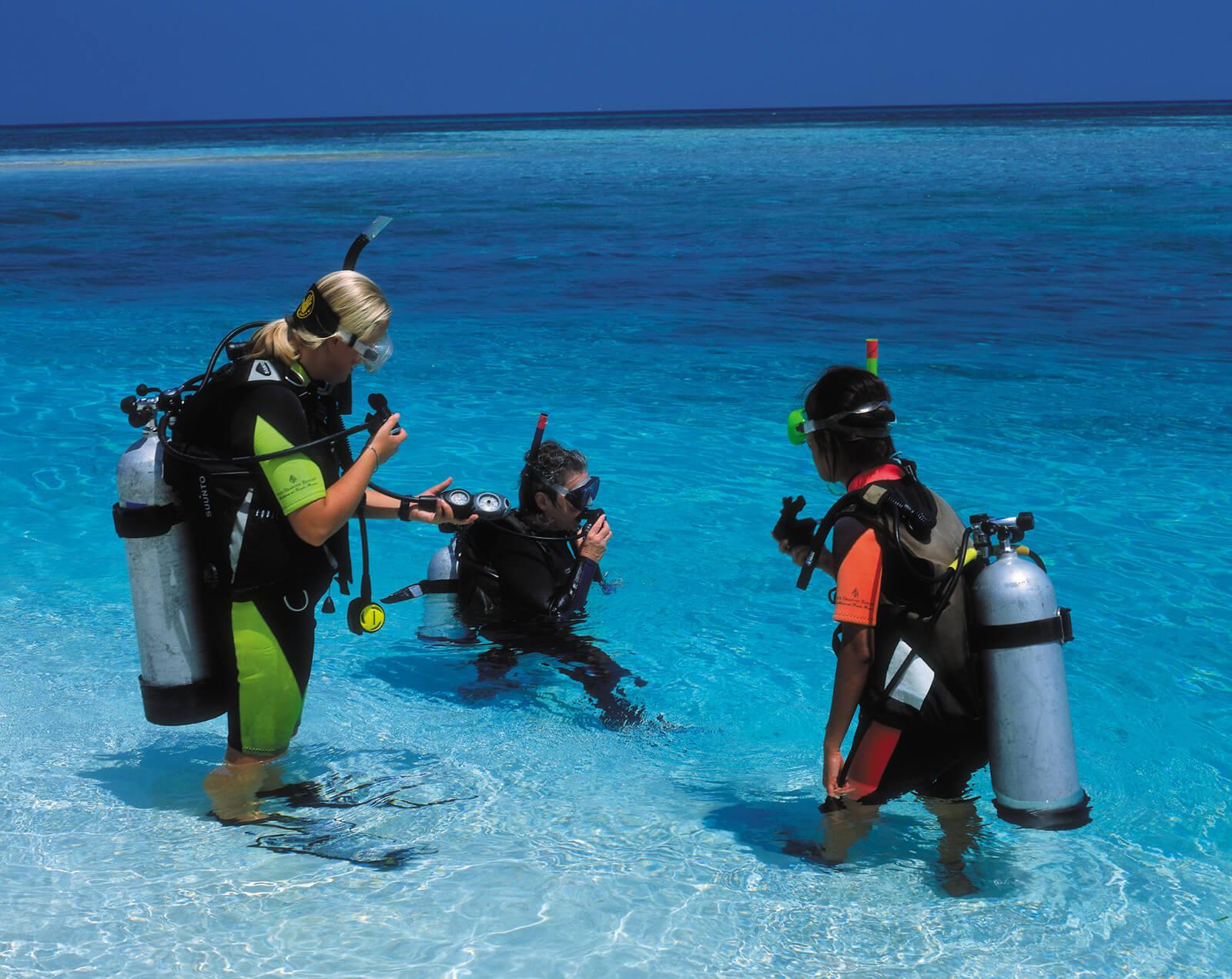 Potápění na ostrově Maafushi