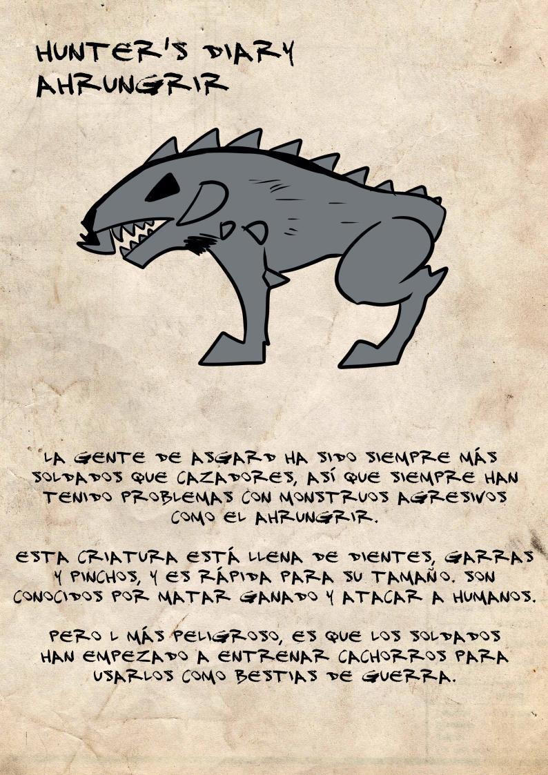 Diario del cazador: Ahrungrir