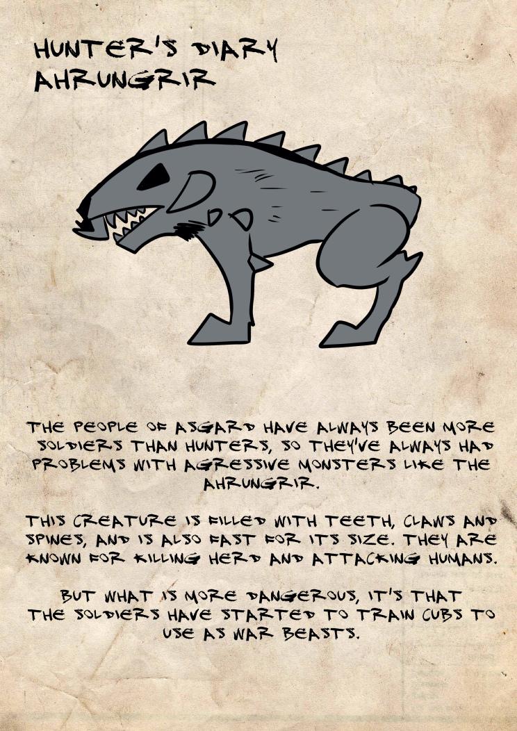 Hunter's diary: Ahrungrir