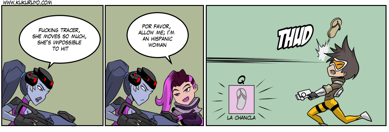 Team Talon blasts off again: La chancla