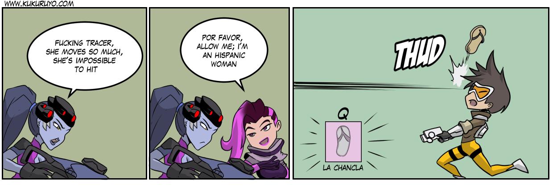 Team Talon blasts off again: La chancla