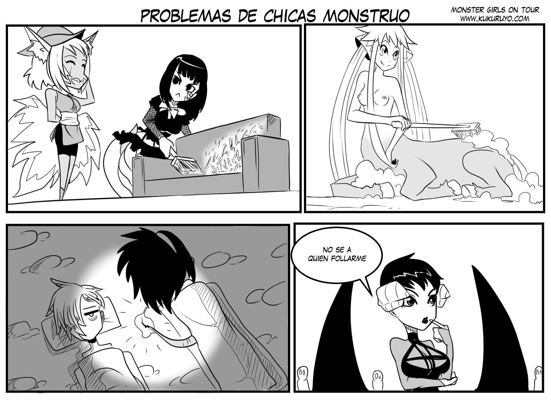 207. Problemas de chicas monstruo