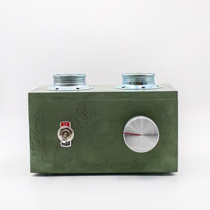 Green Lamp Edision Vintage