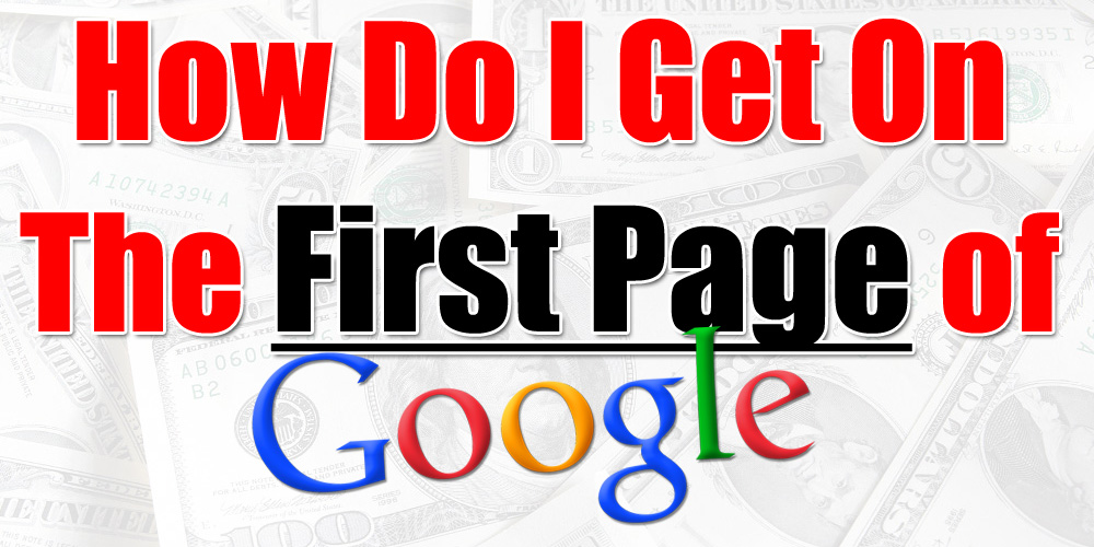 how to rank your keyword on the first page of google fast