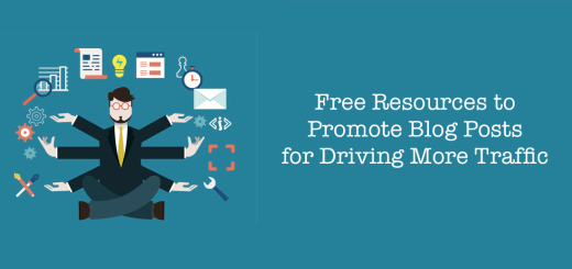 promote blog posts for free