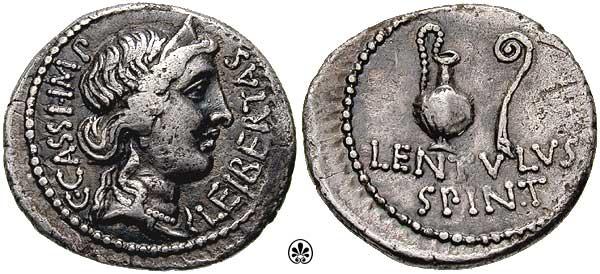 римские монеты свободы