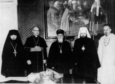 Ротов с римскими кардиналами