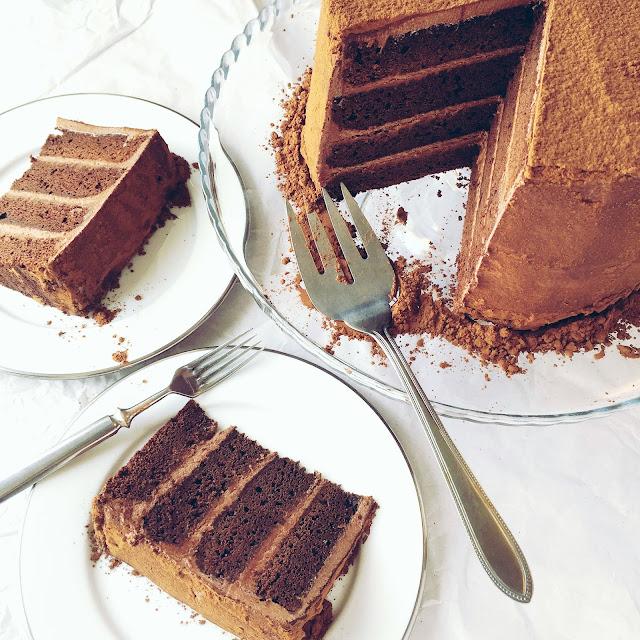 Elämäni upein suklaakakku