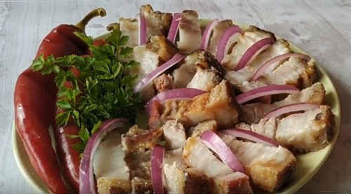 how to bake pork breast in the oven