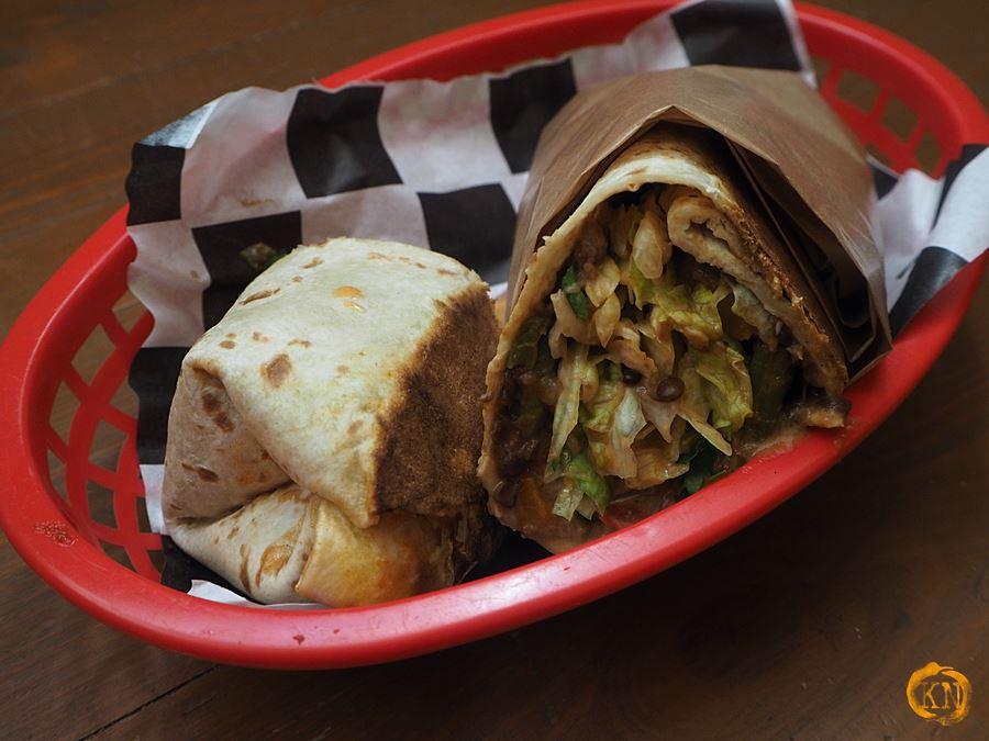 Burrito chili sin carne