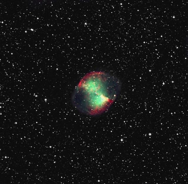 M27 planetáris köd 2011.08.29. Piszkéstető