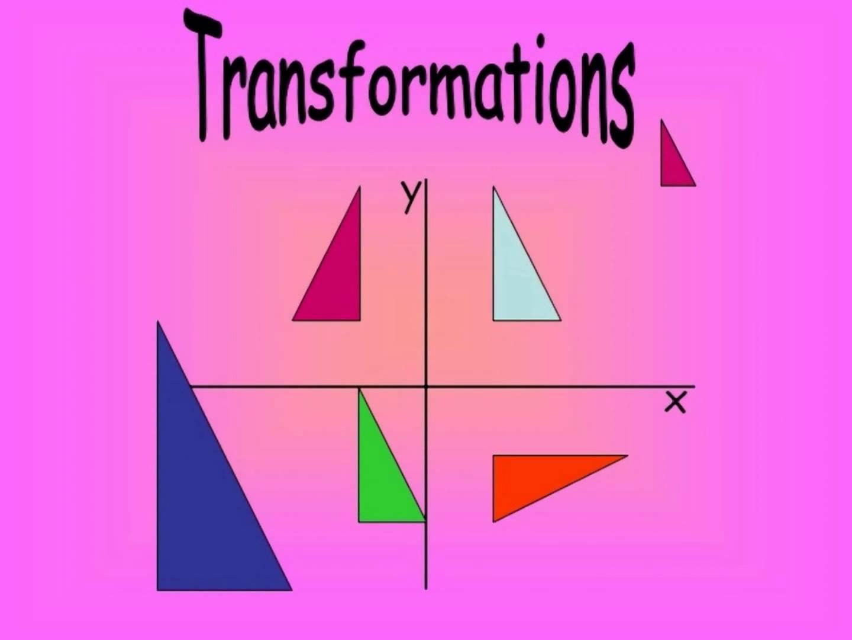 Transformation Topic In Mathematics