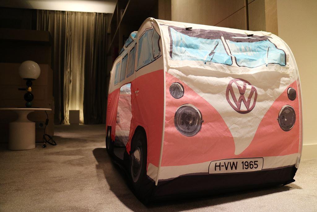 Kullakeks-Ritz Carlton-VW Bus-Zelt