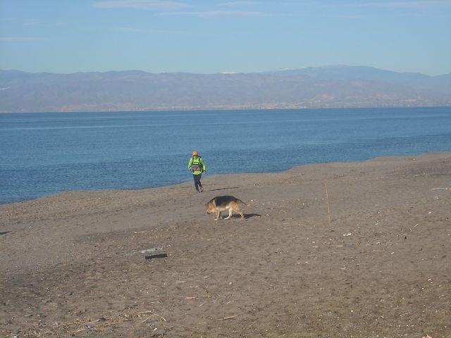 Lukas trainiert für den Marathon des Sables