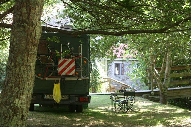 Idylle pur auf dem Camping Rio Xuvia