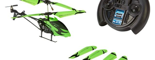Magic Glow – der ferngesteuerte Hubschrauber