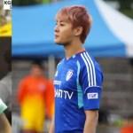 The Soccer Idols: Doojoon, Junsu, & Minho