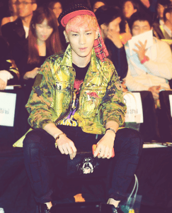 key at fashion show